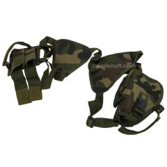 Adjustable Horizontal Shoulder Holster for Airsoft Pistols